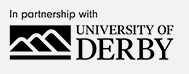 In partnership with University of Derby logo