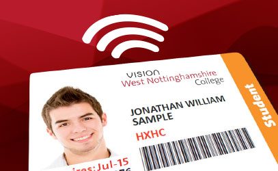 picture of a student card