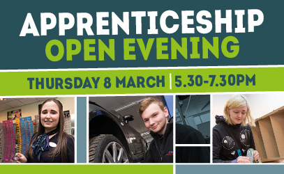 Apprenticeship open evening - Vision West Nottinghamshire College - Mansfield