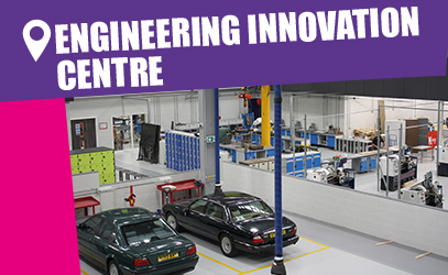 Engineering Innovation Centre campus tour - Vision West Nottinghamshire College - Mansfield