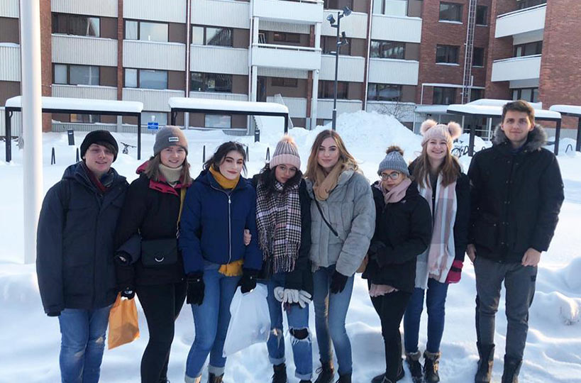 Our A Level students have recently undertaken trips to Finland as part of the Erasmus+ programme.
