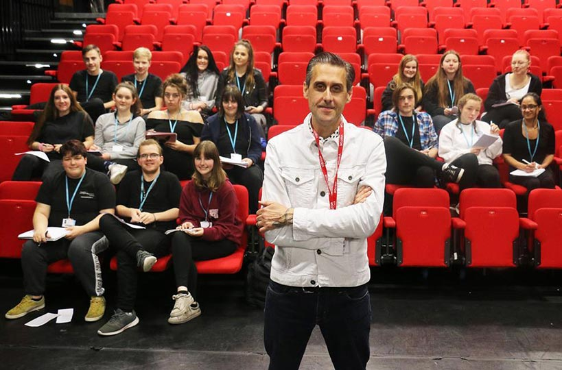 A number of industry professionals including performers, poets and playwrights joined performing arts students in December 2018, as part of Industry Week.