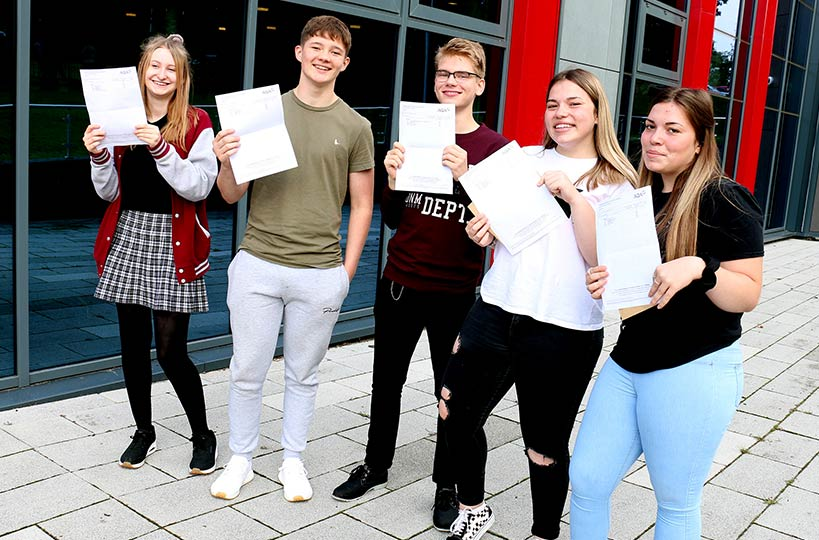 Our A Level students continually receive well-deserved top marks, with a 99.4% pass rate for 2020.