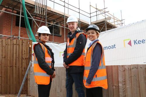 Students keep-up with Keepmoat developments