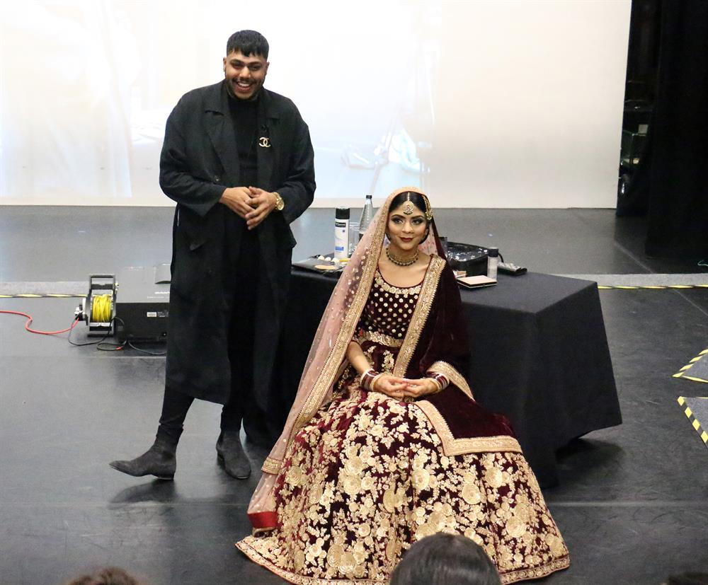 foto de Sought after make up artist brings ethnic glamour to West