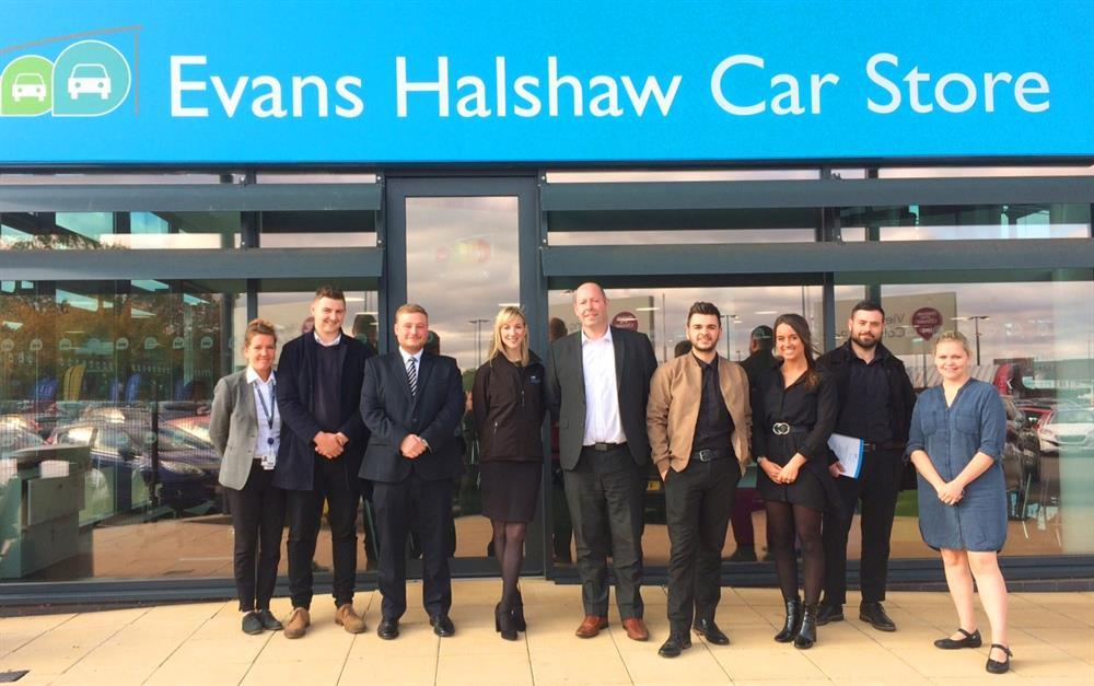 Pendragon staff at the Evans Halshaw Car Store in Coventry are keen to begin their new course