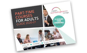 Part-time courses for adults guide 2020-21