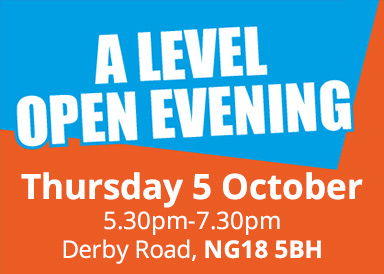 A Level open evening