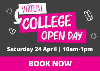 Find out more about our virtual college open day