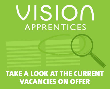 Vision Apprentices current vacancies